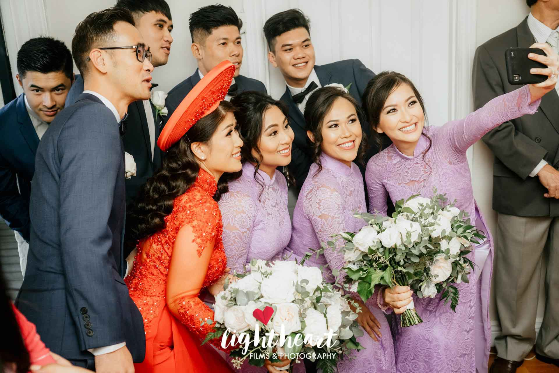 Bridesmaid Ao Dai Photo 1