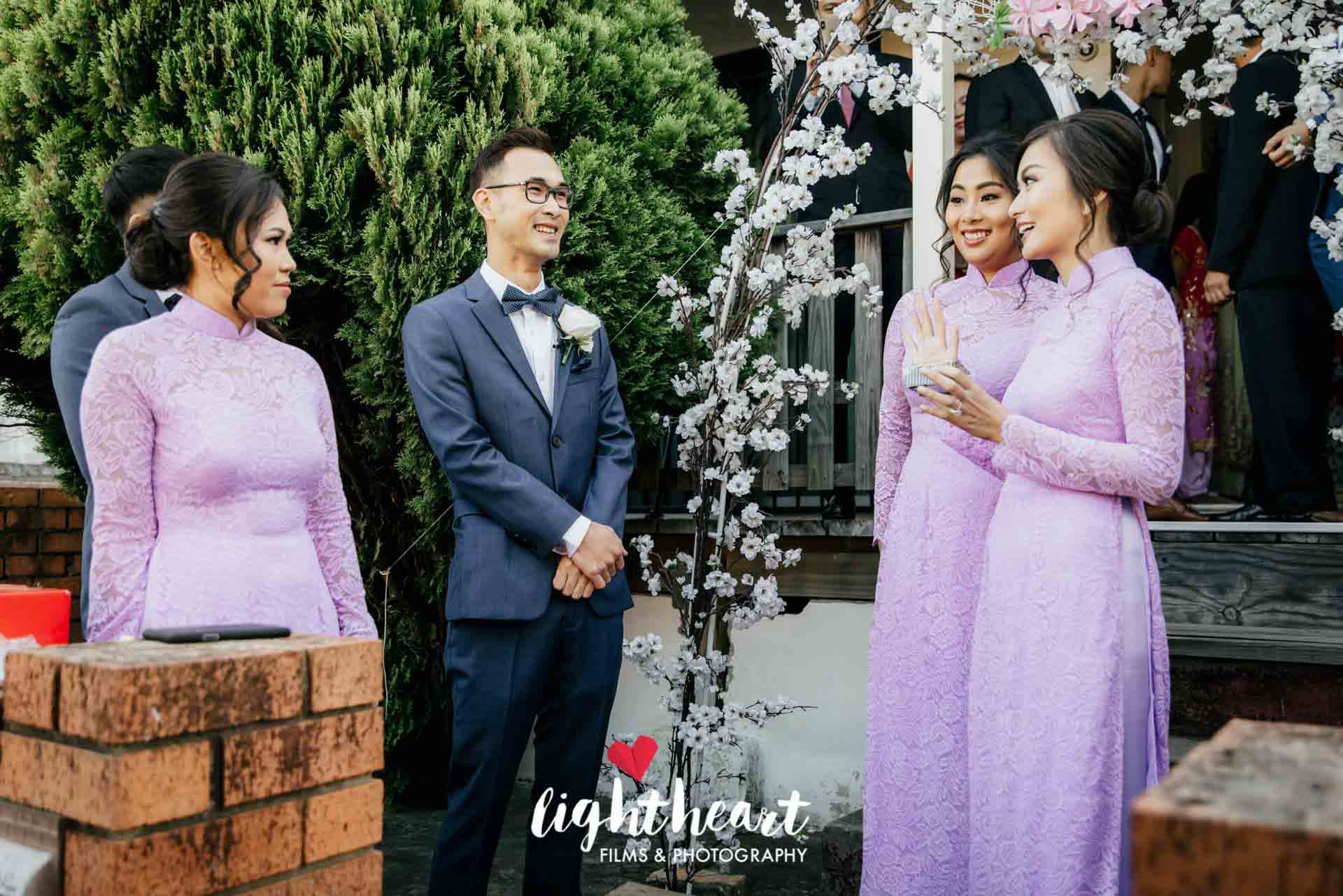 Bridesmaid Ao Dai Photo 2