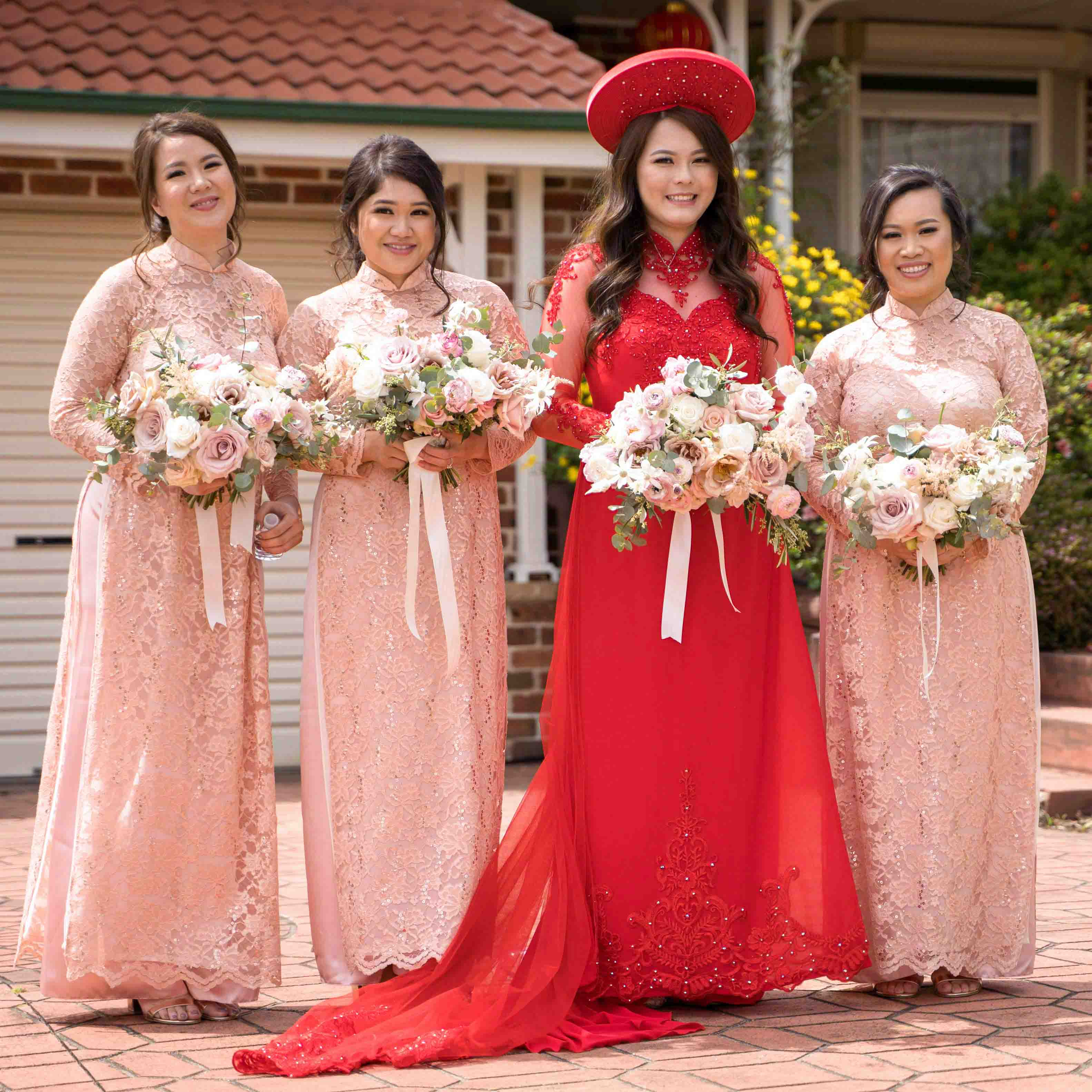 Bridesmaid Ao Dai Photo 10