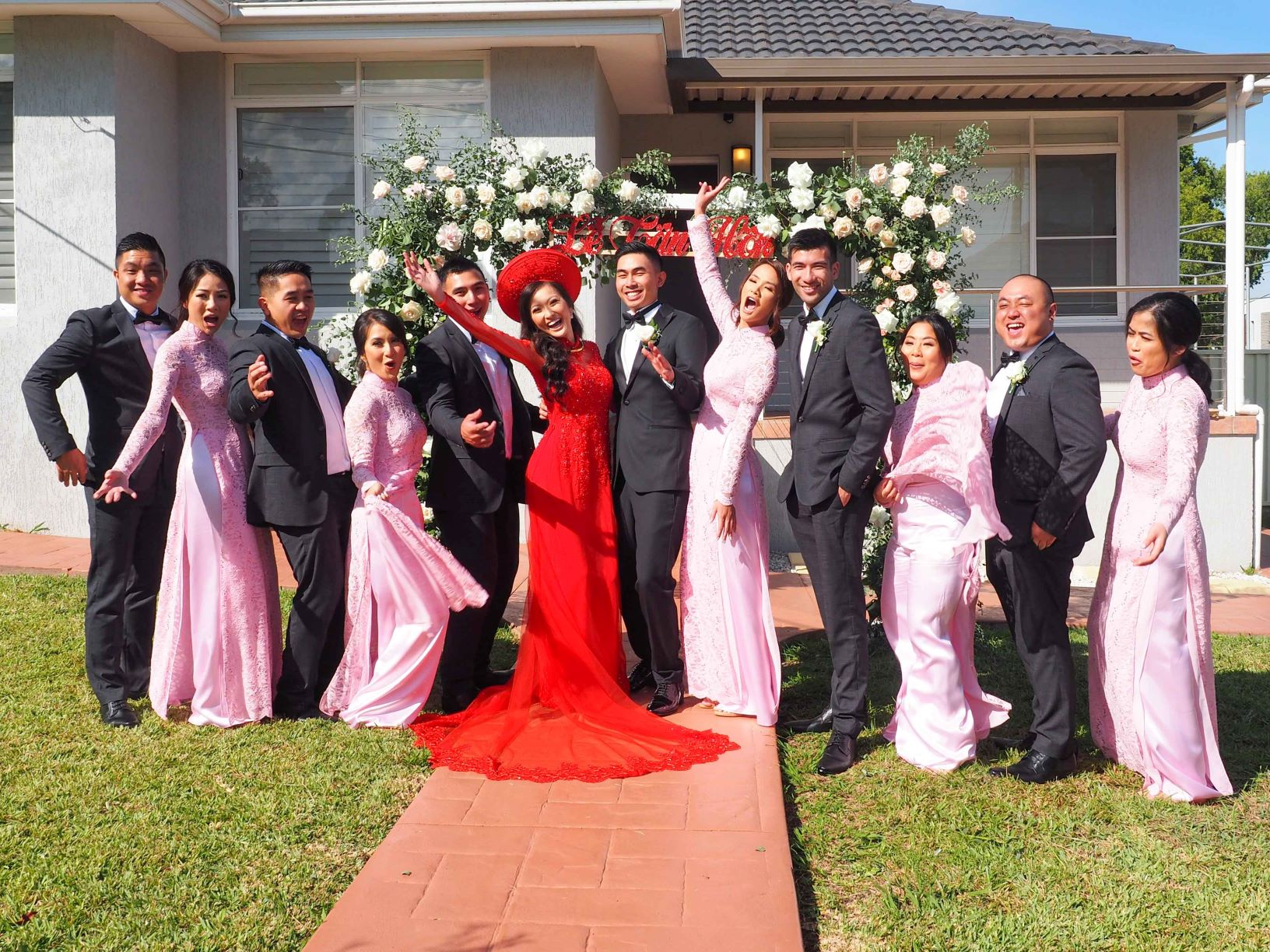 Bridesmaid Ao Dai Photo 13