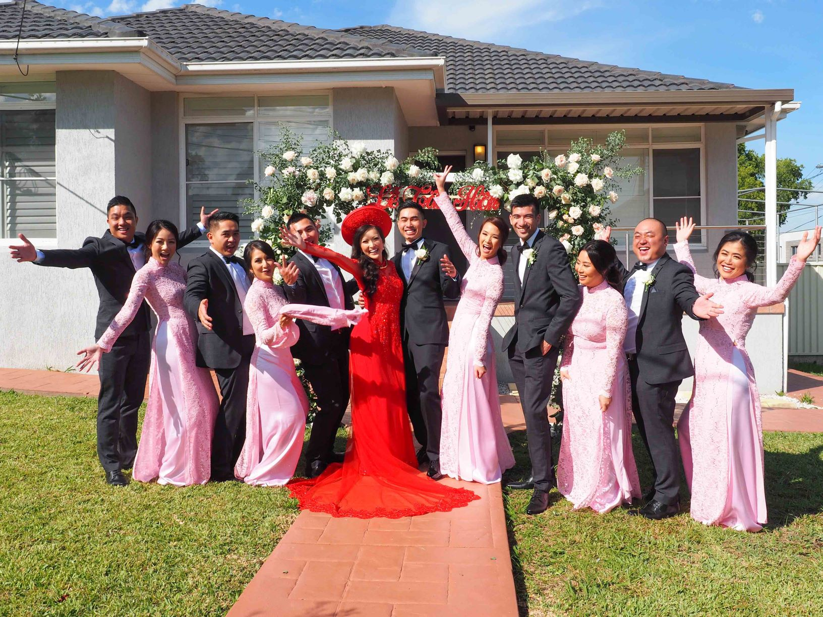 Bridesmaid Ao Dai Photo 14