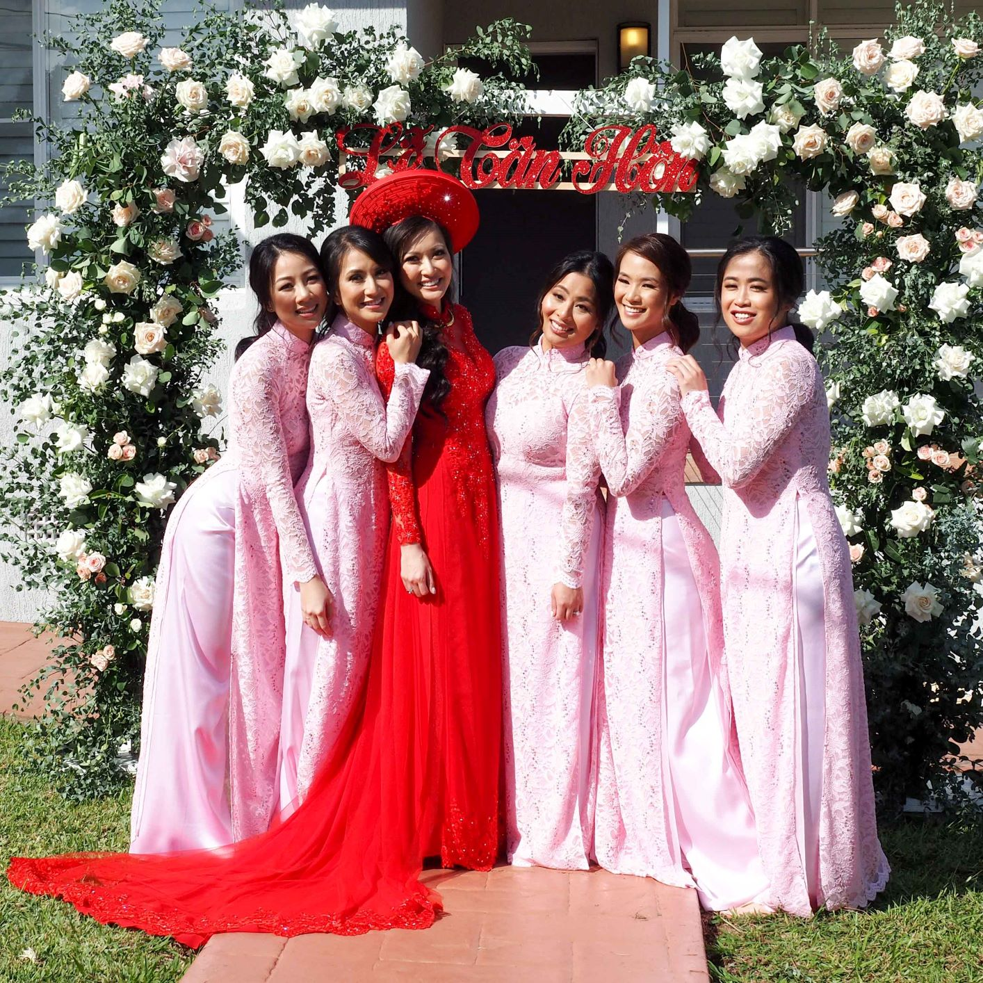 Bridesmaid Ao Dai Photo 15