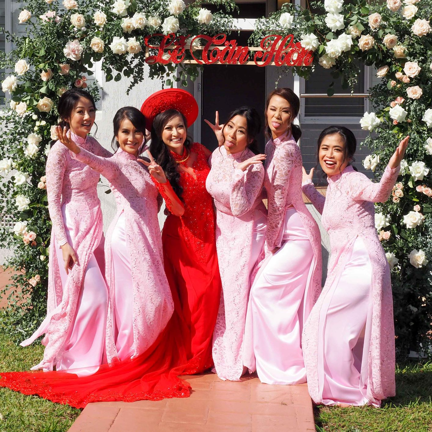 Bridesmaid Ao Dai Photo 18
