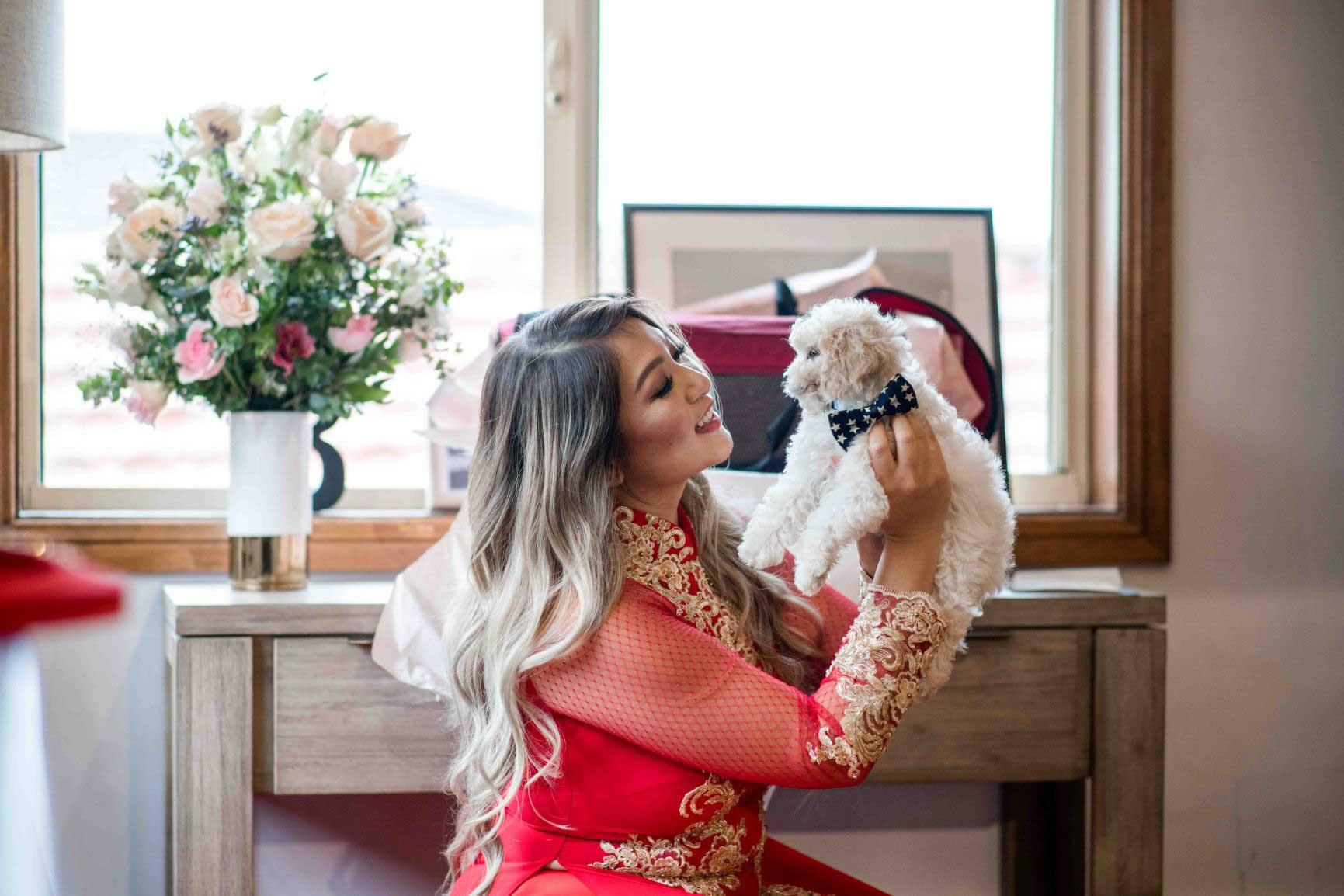 Belinda's Wedding Ao Dai Photo 8