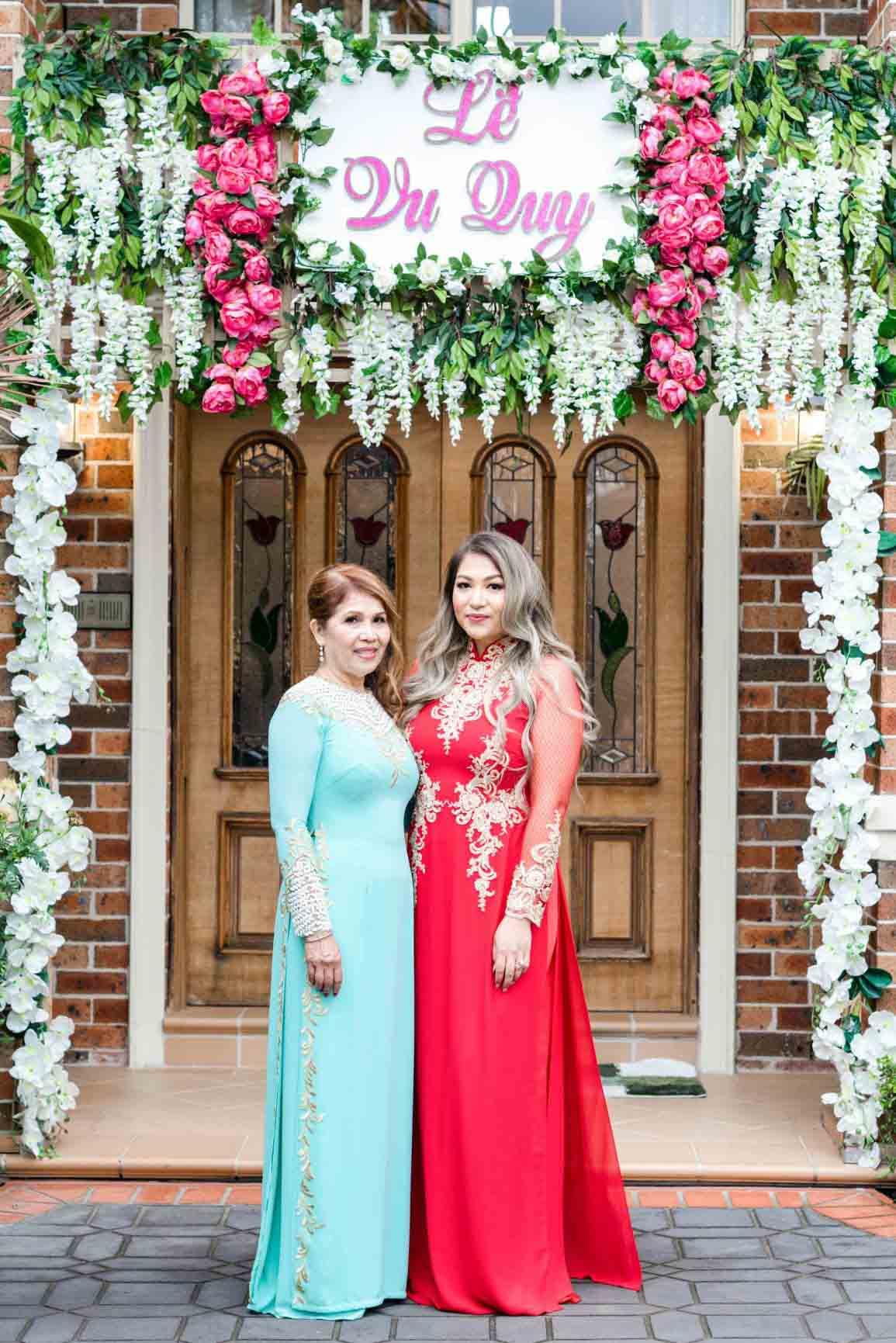 Belinda's Wedding Ao Dai Photo 9