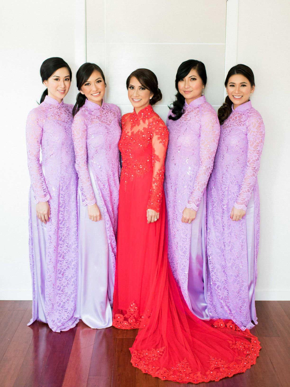 Linda's Wedding Ao Dai Photo 4