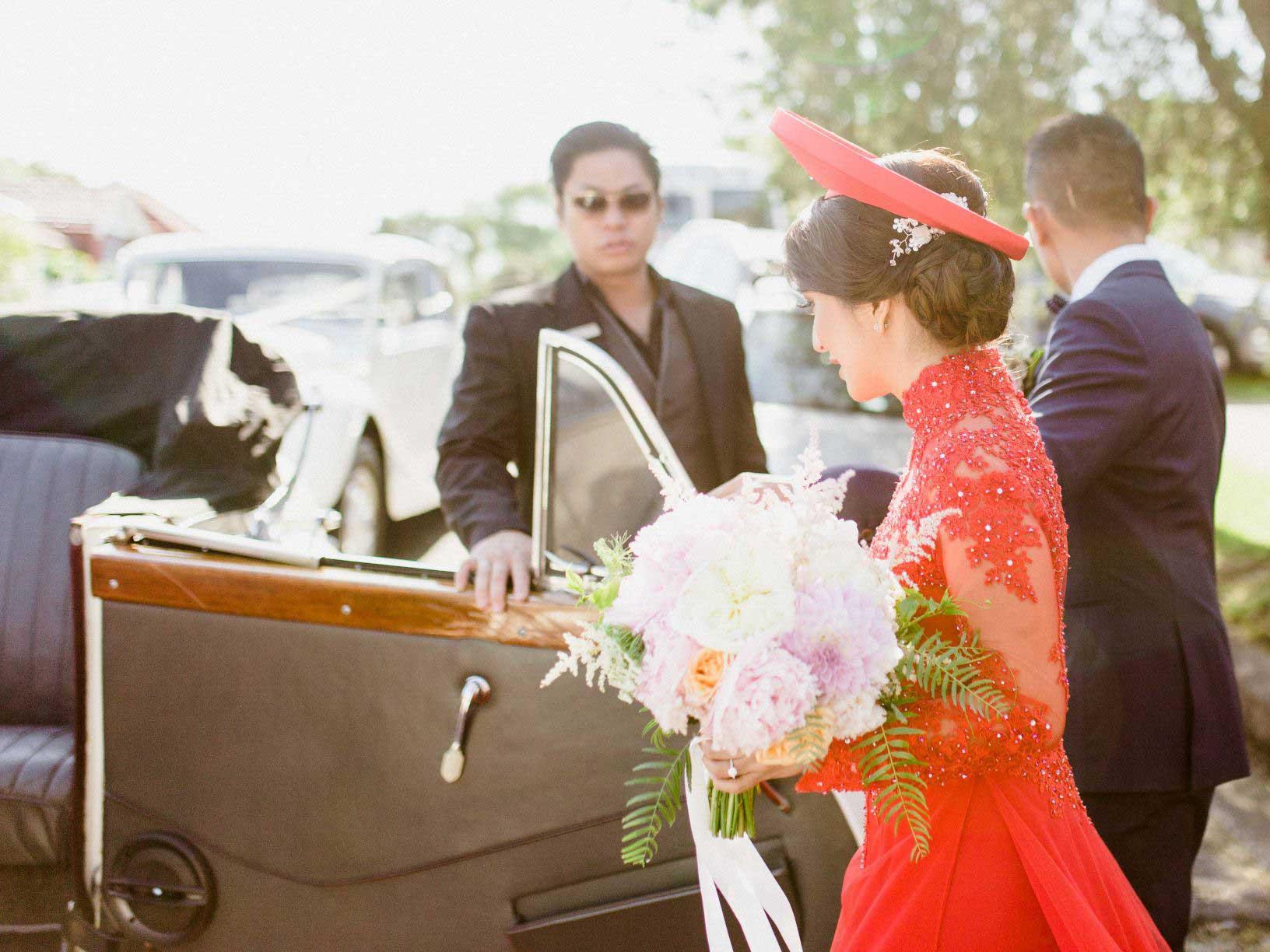 Linda's Wedding Ao Dai Photo 5
