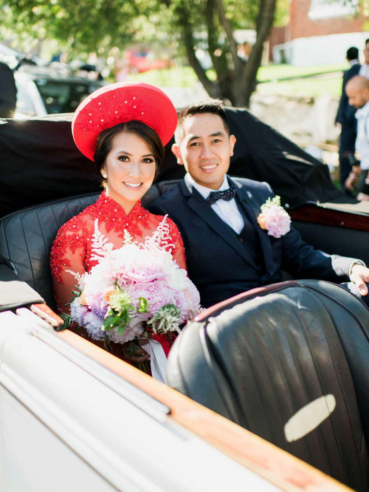 Linda's Wedding Ao Dai Photo 6
