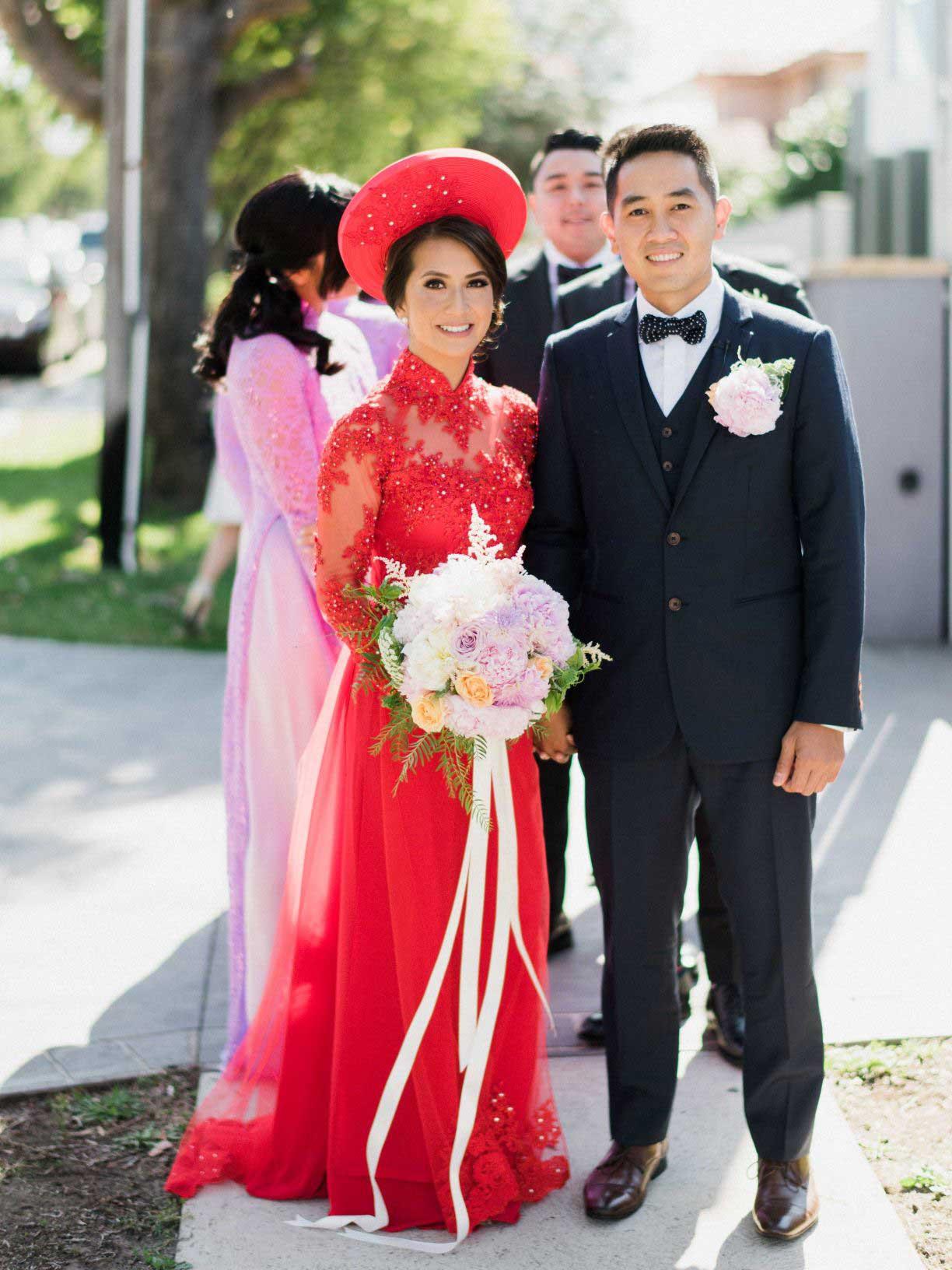 Linda's Wedding Ao Dai Photo 7