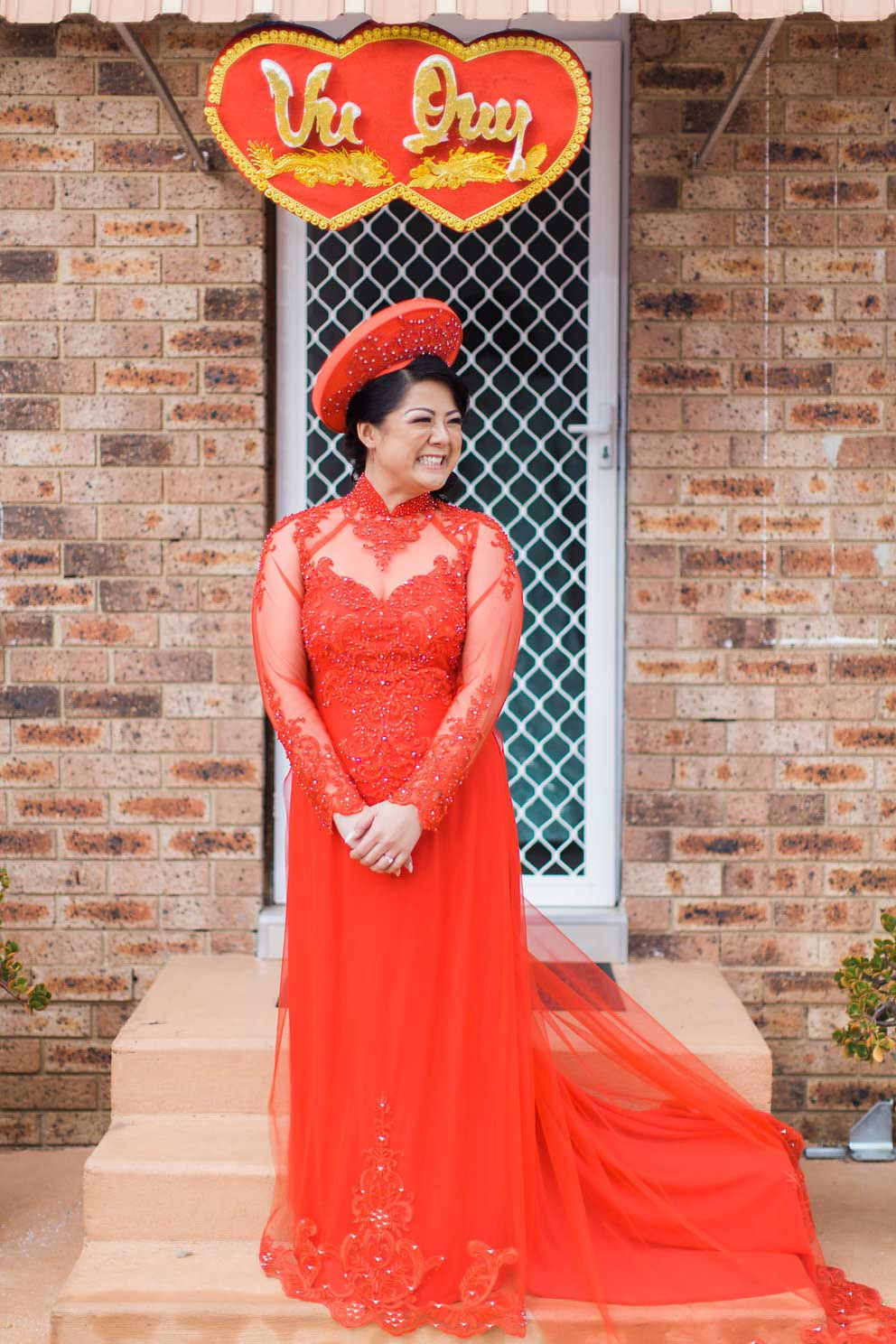 Linh's Wedding Ao Dai Photo 1