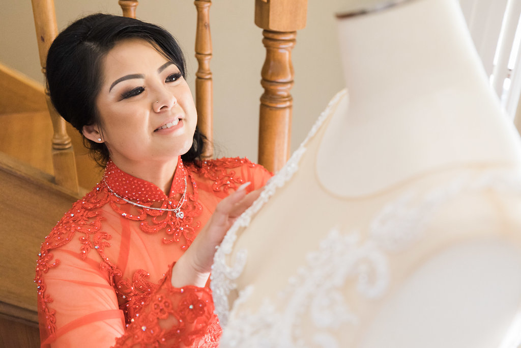Linh's Wedding Ao Dai Photo 5