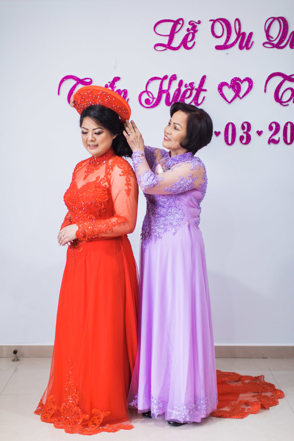 Linh's Wedding Ao Dai Photo 12
