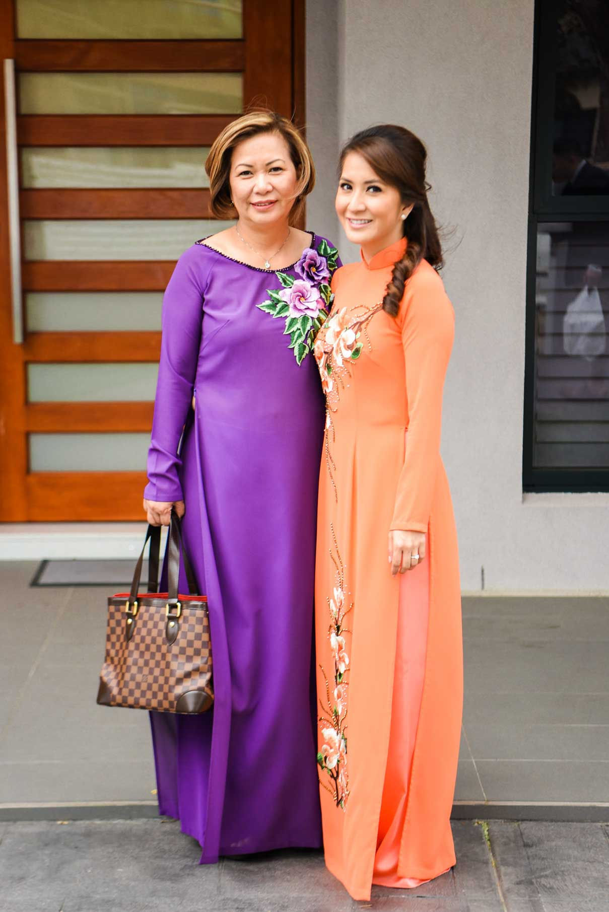 Mother of the Bride Ao Dai Photo 17