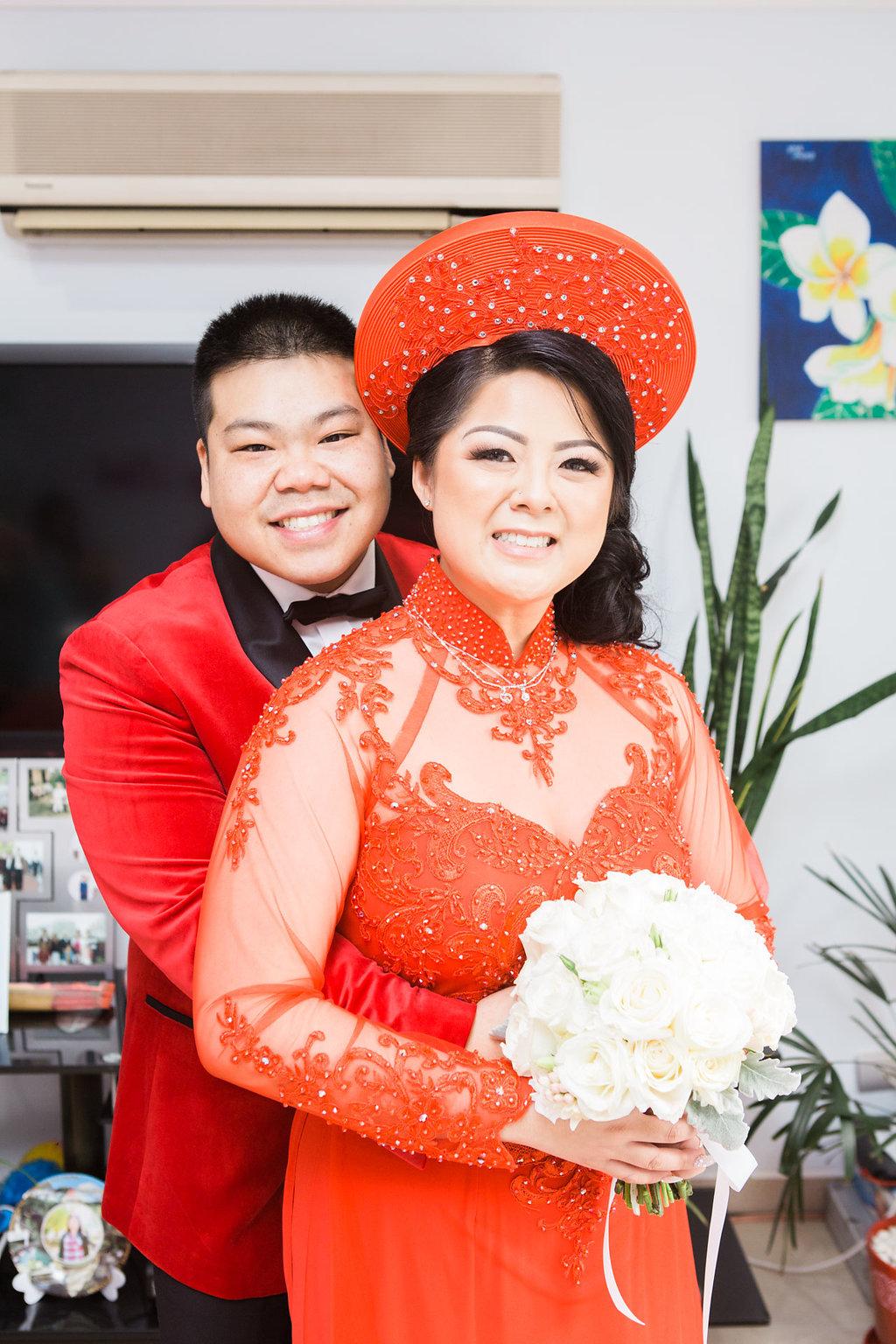 Linh and Kiet Photo 37