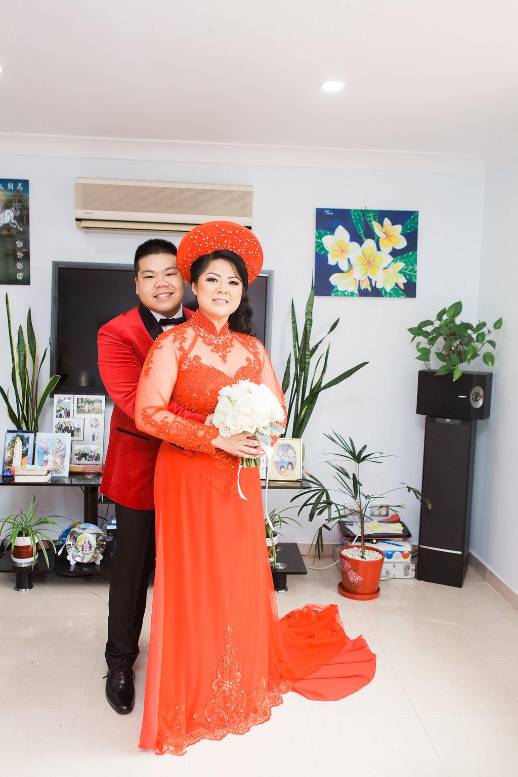 Linh and Kiet Photo 38