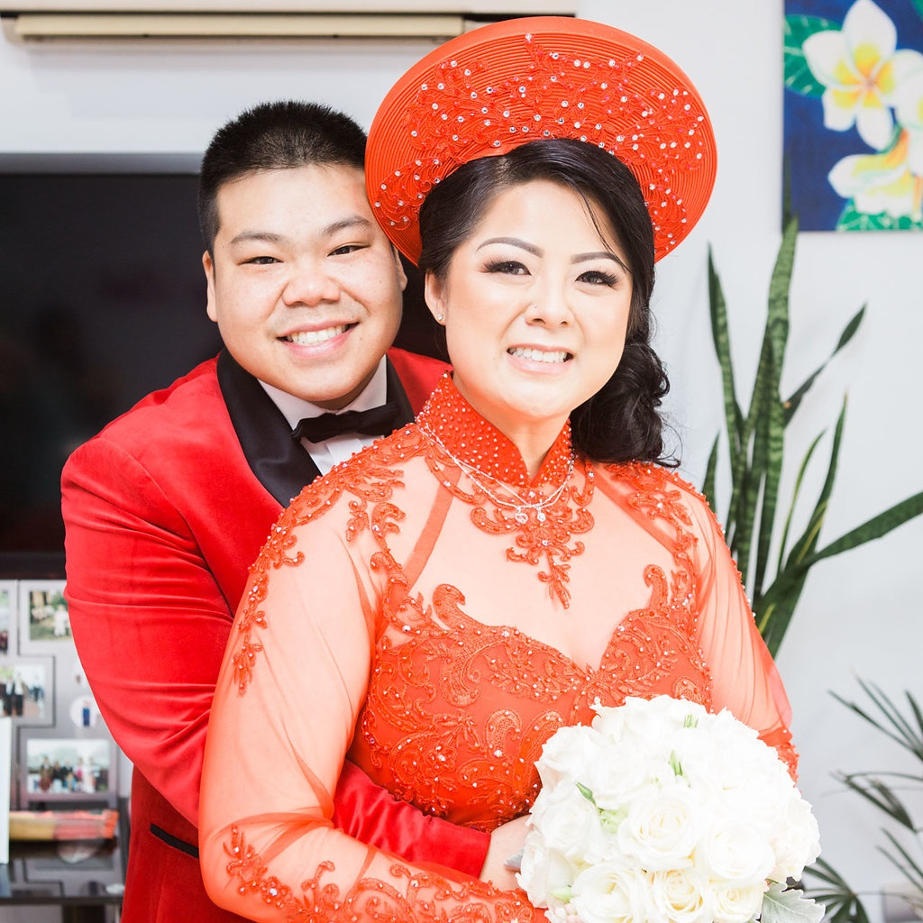 Linh and Kiet Photo 1